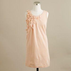 JCrew Lilac Shower Shift Sleeveless Peach Dress XS